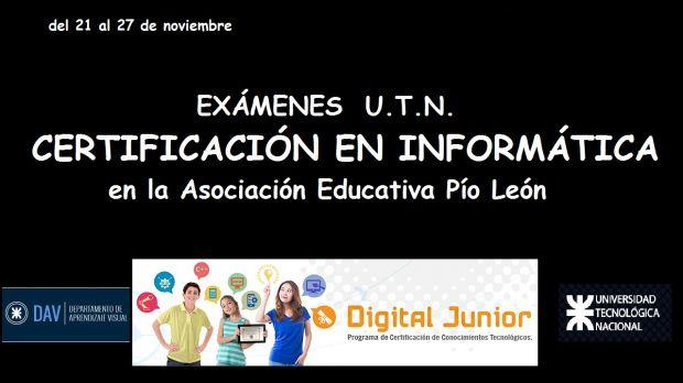 Certificación en Informática U.T.N.