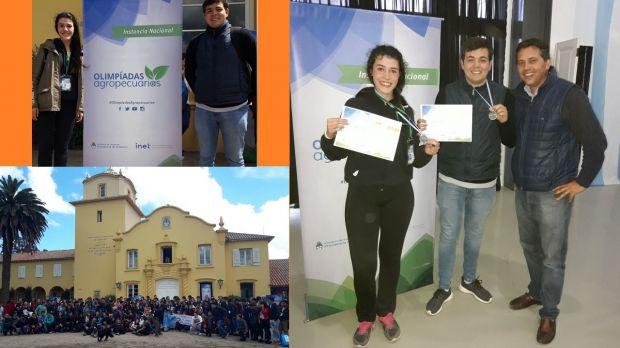 Campeones Nacionales en Olimpiadas Agrotécnicas